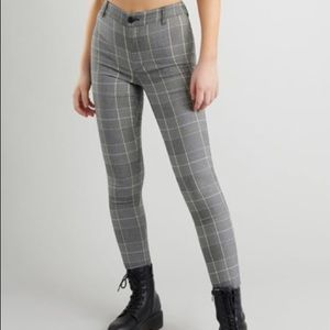 """Plaid """"As If!"""" Pants size S"""
